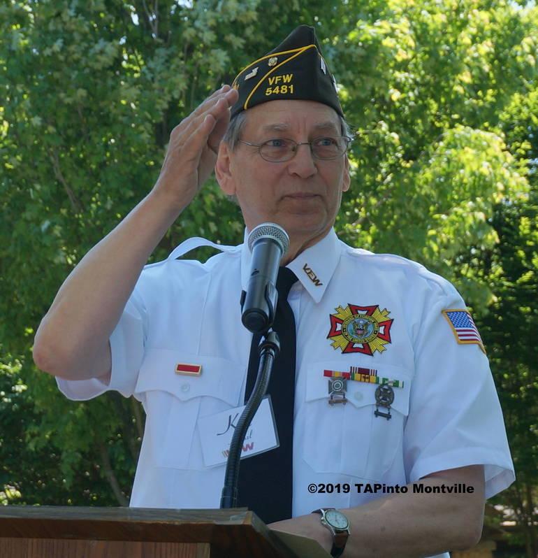 a VFW Post 5481 Commander Elect Ken Hanzl ©2019 TAPinto Montville 2.JPG