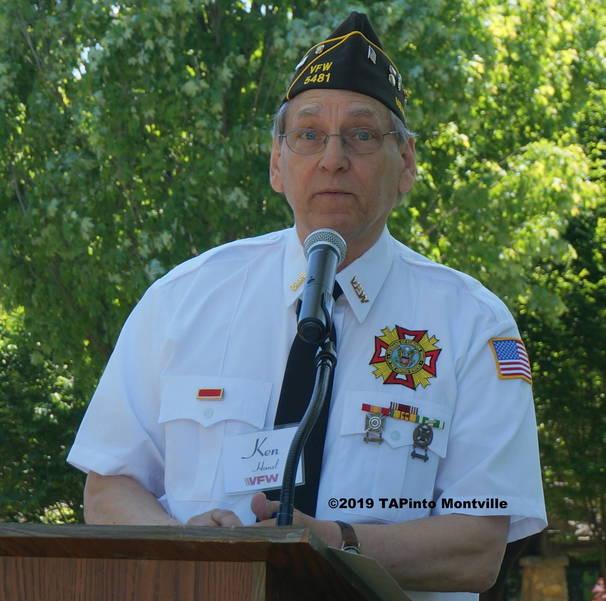 a VFW Post 5481 Commander Elect Ken Hanzl ©2019 TAPinto Montville.JPG