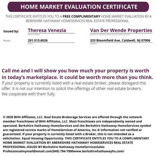 Home Certificate