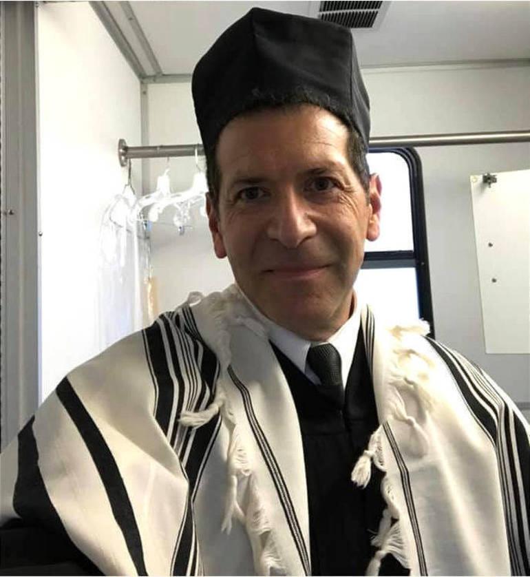 Matt Axelrod is the cantor at Congregation Beth Israel (CBI) in Scotch Plains.