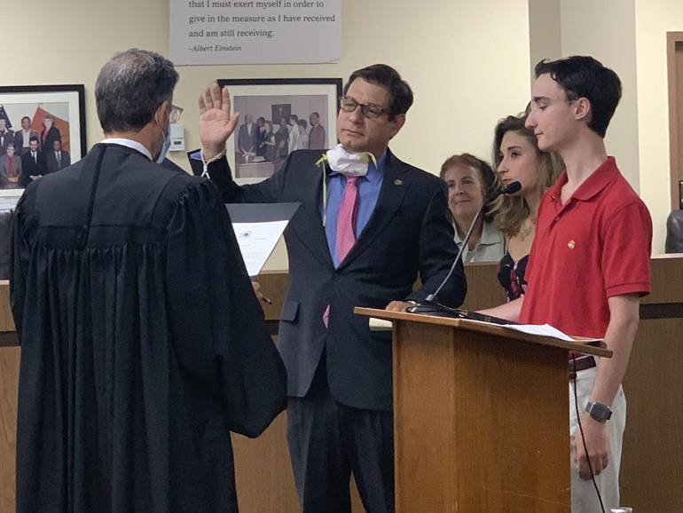 New Montclair Council Takes Office; Governor Murphy Swears In Mayor Spiller