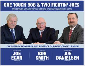 NJ State Senator Bob Smith, Assemblyman Joe Egan & Assemblyman Joe Danielsen representing the 17th Legislative District