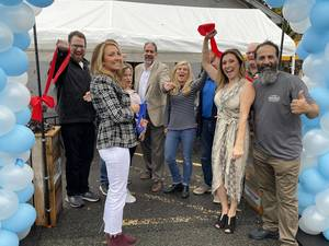 Patria Station Café Celebrates Grand Opening in Berkeley Heights with Ribbon Cutting