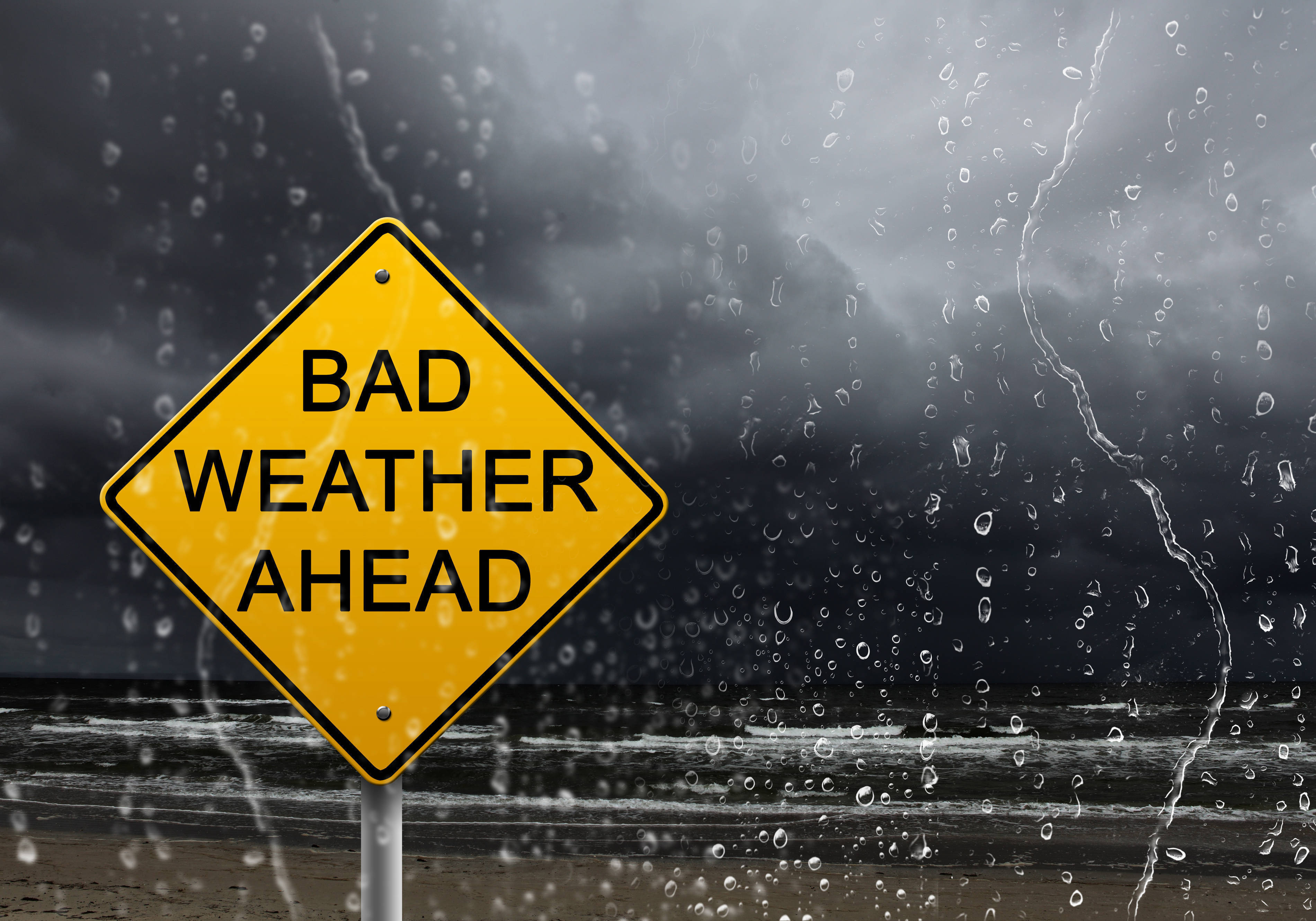 Nor'easter with Coastal Flood Warning and Wind Advisory Issued by National Weather Service