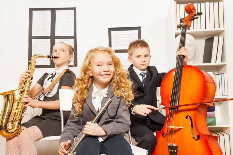 Introduce Your Kids to Musical Instruments on May 22