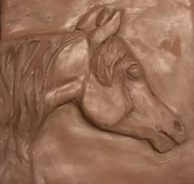 Create a Bas-Relief Horse Head Tile At Harness Racing Museum
