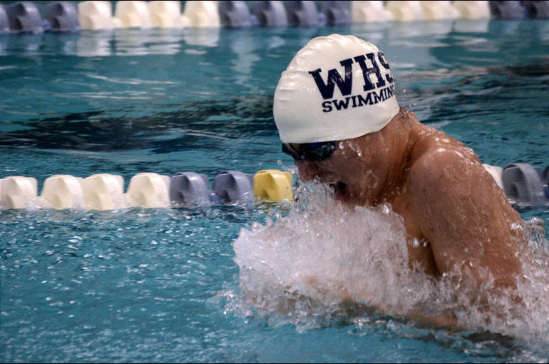 Barney Veres, Westfield wins 100 Breast.png