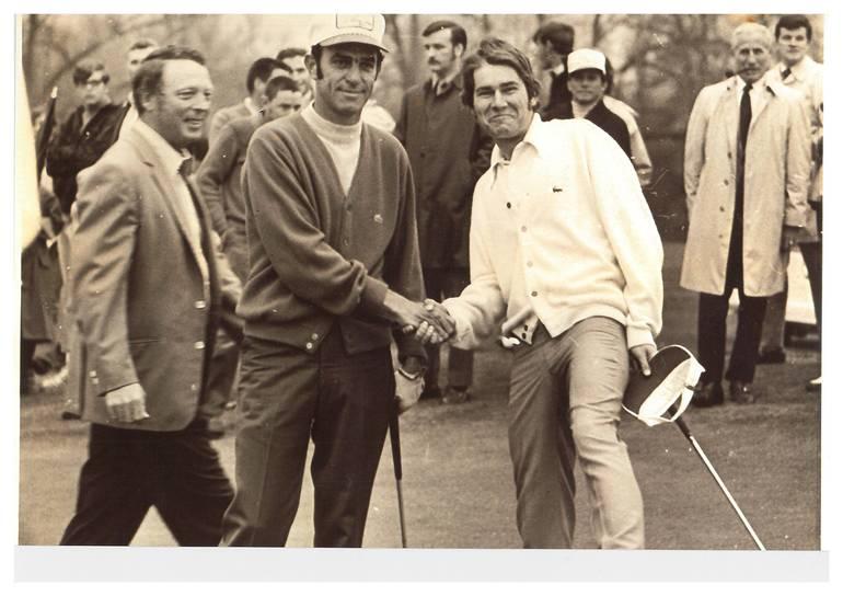 Babe Lichardus and Bill Ziobro 1971 Dodge Open.jpg