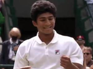 Bernards Township Resident Wins Junior Wimbledon Tennis Championship