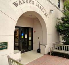 Warren Library Presents Outdoor Movie Friday
