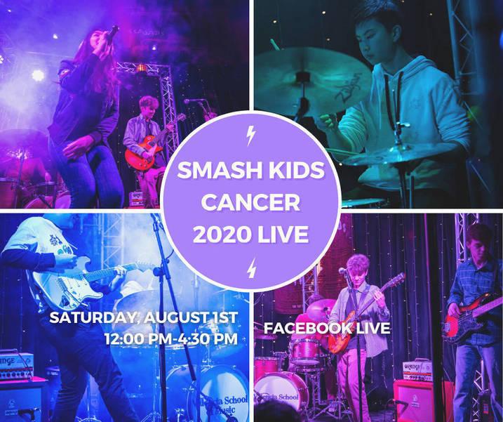 Smash Kids Cancer 2020 Live