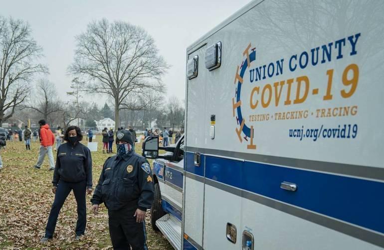 covid union county
