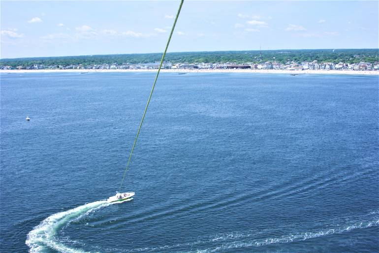 Last Chance to Get on Board with Belmar Parasail for a High-Flying Adventure