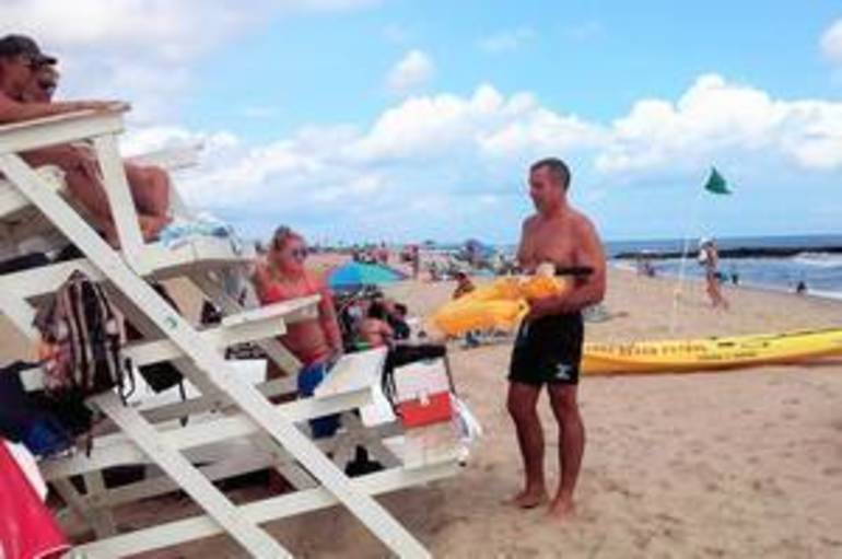Belmar Lifeguards Test Ocean Waters with Lifesaving Drone