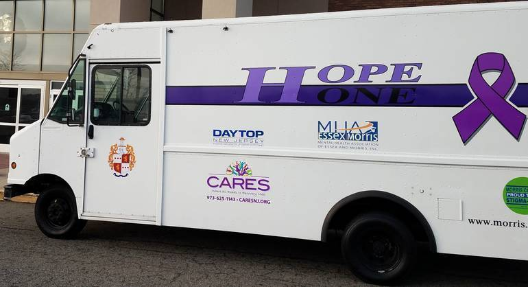 The HOPE ONE Van Will Make  6 More Stops This Month