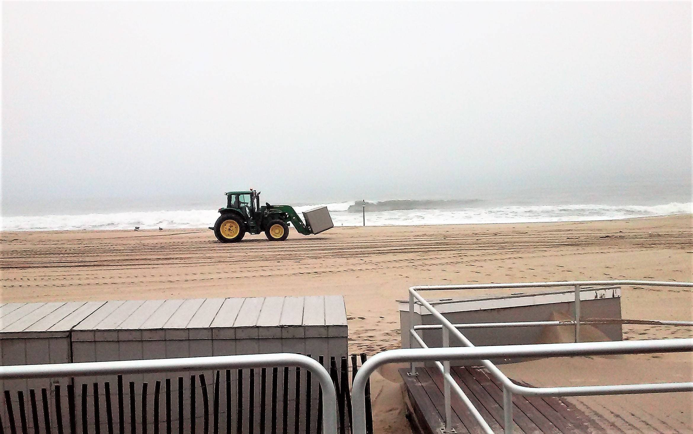 Belmar Prepares for Backhand Punch of Hurricane Florence