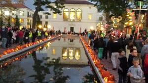 Pumpkin illumination is Tonight on the Lawn of Morristown's Vail Mansion