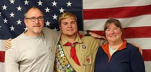 """Two Eagle Scouts Get """"Drive By"""" Court of Honor"""
