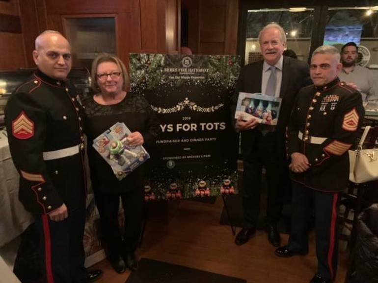 BHHS Van Der Wende Kicks Off 34th Annual Toys for Tots Event