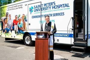 Saint Peter's University Hospital Unveils New Community Health Services Van