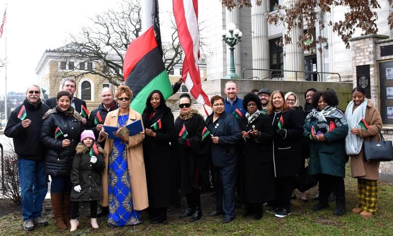 Black History Month Flag Raising 2020.JPG