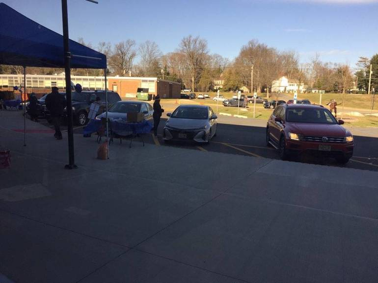 Chatham Community Shows Up for Drive-Thru Bone Marrow Screening for 5-Year-Old; 1,100 Screened at CHS, 2,088 Register Overall