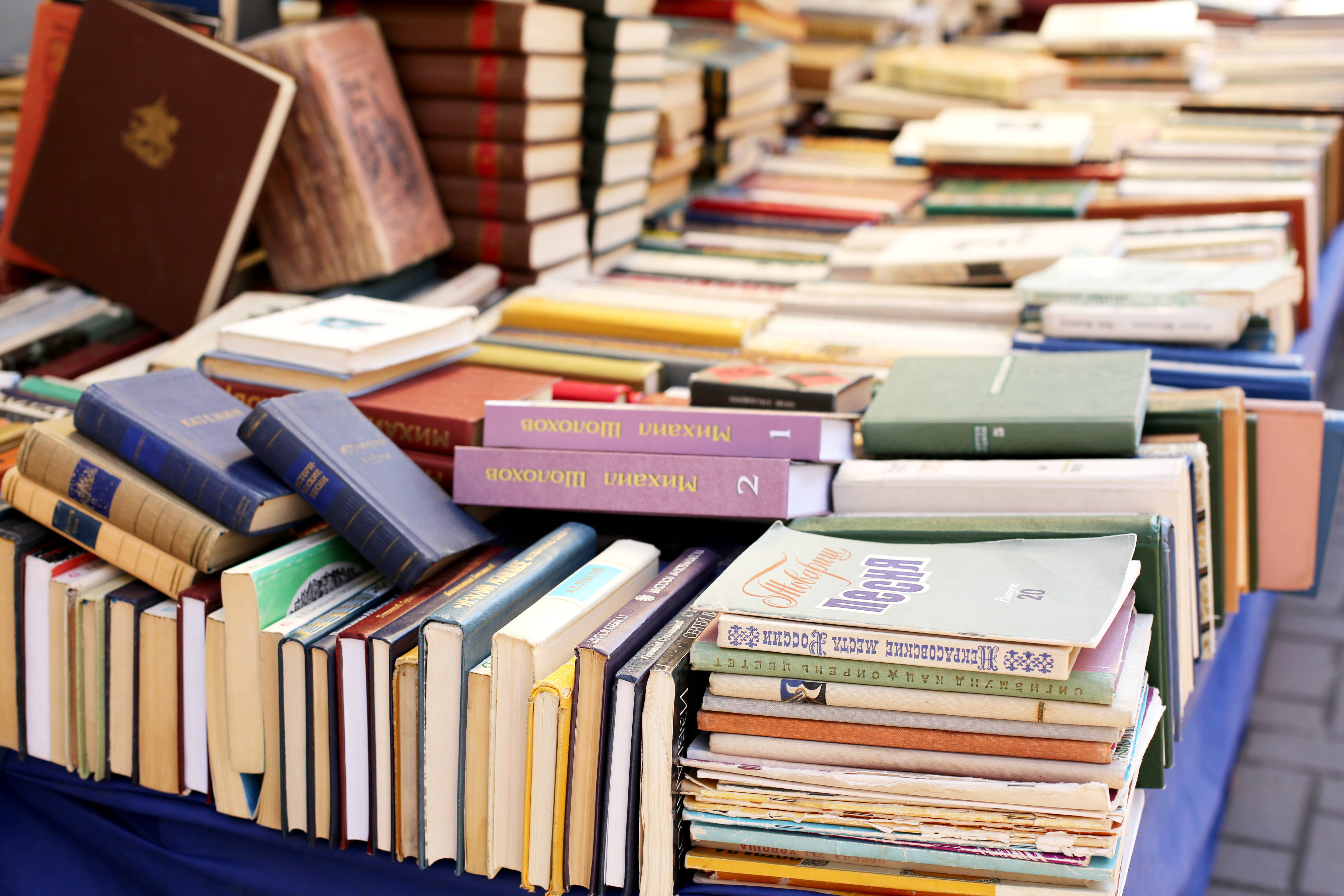 Friends of Livingston Library Restocks Ongoing Book Sale