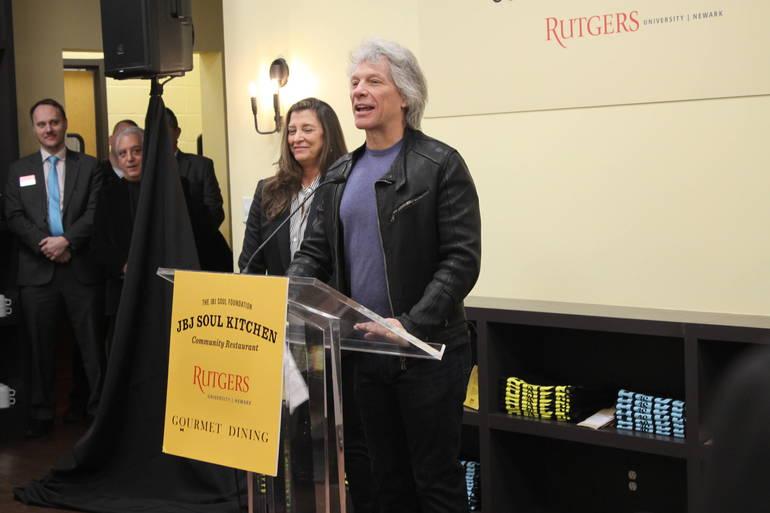 Bon Jovi and wife