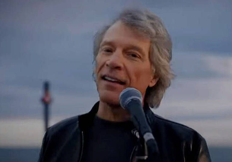 Sayreville native Jon Bon Jovi performs at Biden Inaugural.