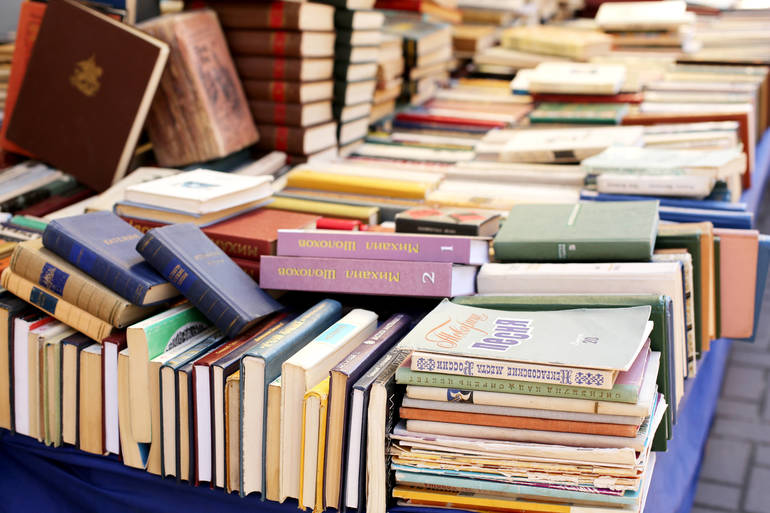 Pick-Up the Classics, Comics, and Novels at Mercer County Library Curbside, Tabletop Book Service