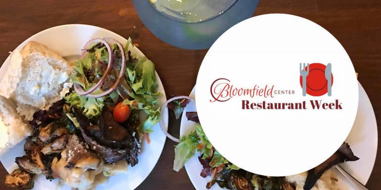 Bloomfield Center Alliance, Bloomfield Restaurant Week, Bloomfield Restaurants