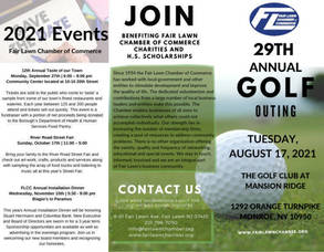 Fair Lawn Chamber Golf Outing Set for August 17
