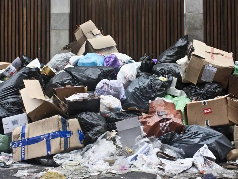 Garbage Piled High