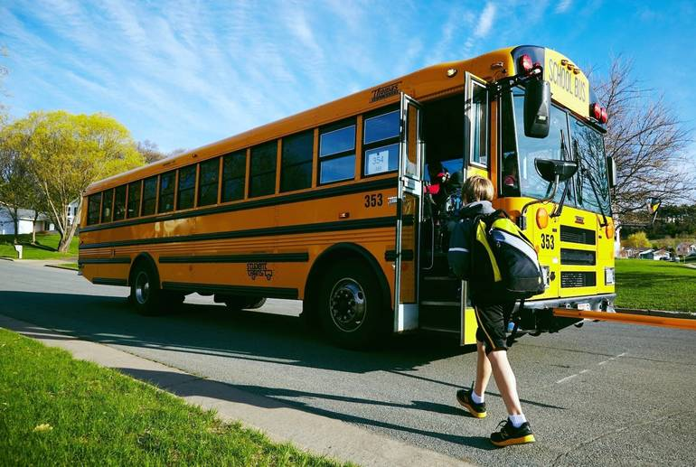Bus Accident at Hamilton School Sends Five Students to Hospital