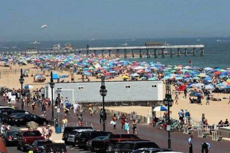 Bustling Belmar Beach - Mark Walsifer.png