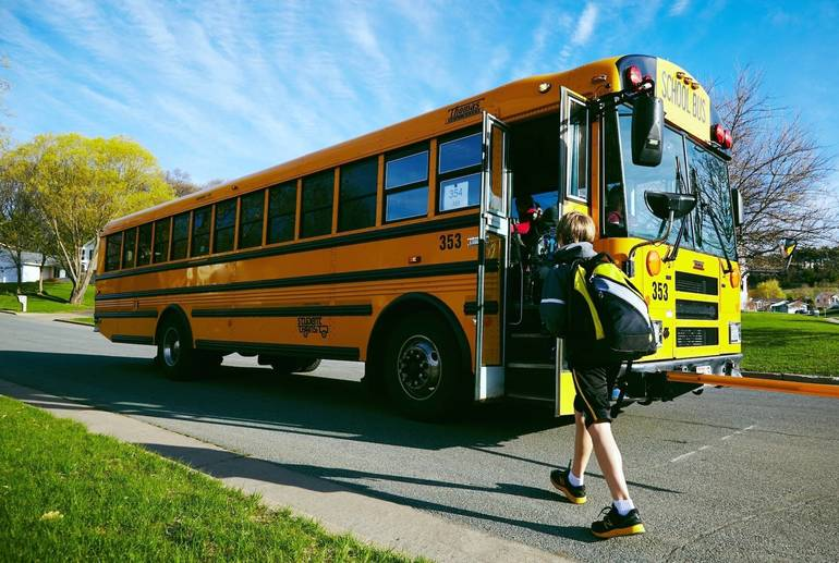 Quijano & Benson Bill to Authorize Use of Electric School Buses Becomes Law