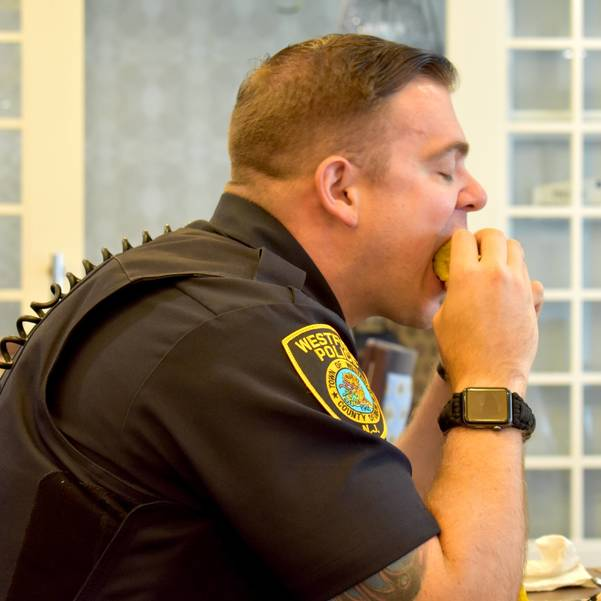 First Responders Treated to a Barbecue at Arbor Terrace Mountainside on September 12