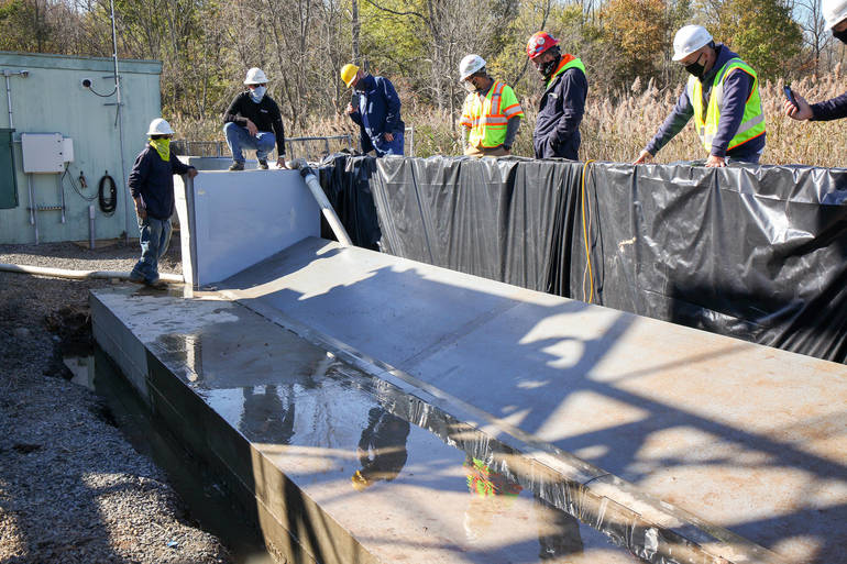 New Automated Flood Walls in Sussex and Essex Counties Substations to Help Reduce Outages for JCP&L Customers