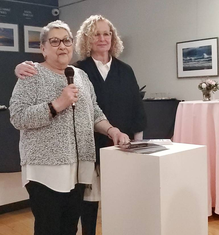 Cancer Survivor Lois Solomon (Left) with her friend Peggy Forma (Right).jpg