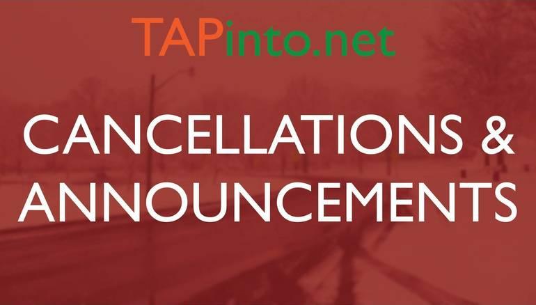 Milltown Recreation Department Cancels Activities