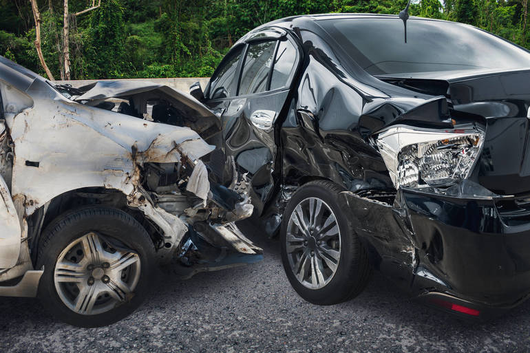 Traffic Alert:  Two Car Accident Near Cherry Hill Road