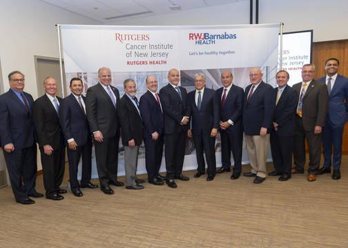 RWJBarnabas Health, Rutgers Cancer Institute Announce $750M