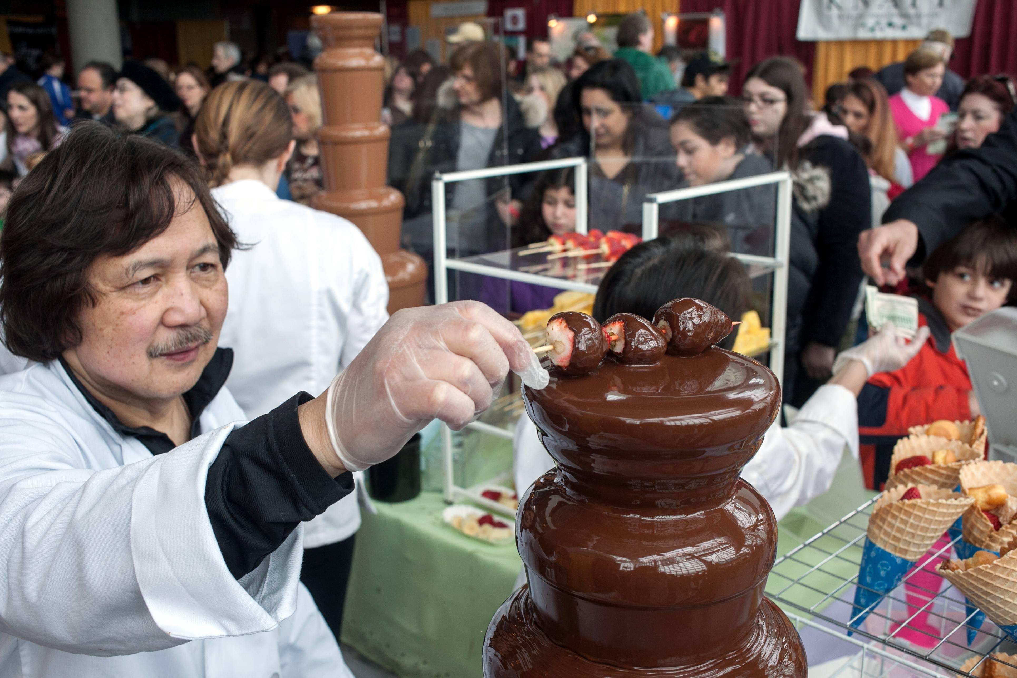 Chocolate Fountain at The Chocolate Expo.jpg