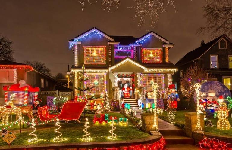 Map Released of Homes Participating in Merry & Bright Holiday Lights Tour 2019