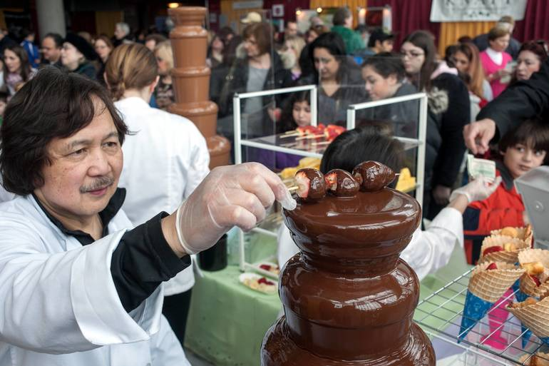 Chocolate Fountain at The Chocolate Expo.jpg