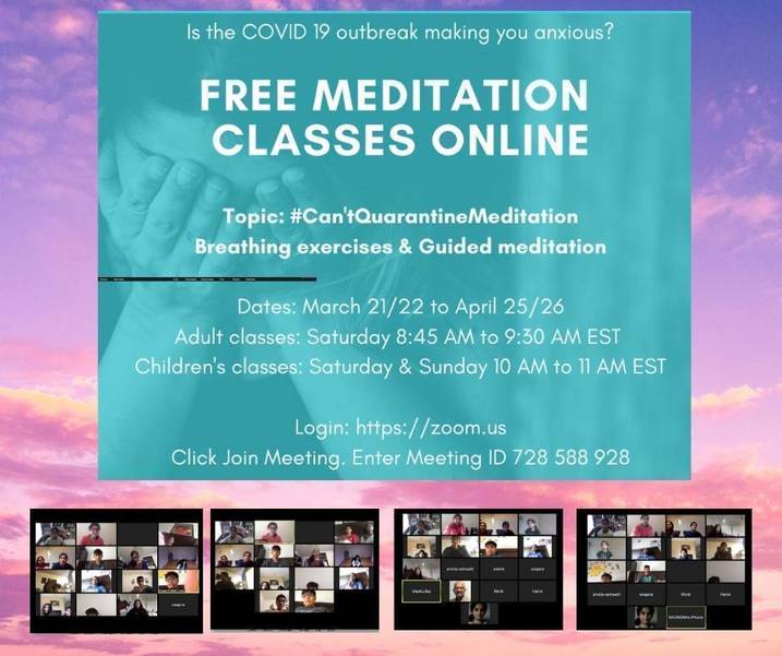 Business Chatter: iReikiNow Offers Free Online Meditation Class Via Zoom