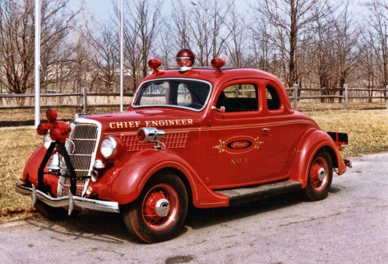 Chief fire engineer car