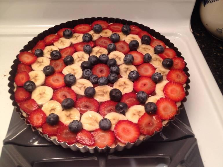 Chocolate Pudding Fruit Tart.JPG