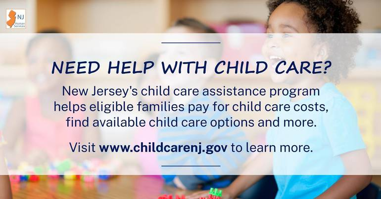 NJ Human Services Extends COVID-19 Child Care Assistance Programs Through End of January