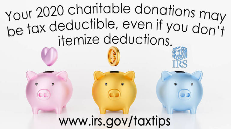 Here's how taxpayers can check if their charitable donation is tax deductible